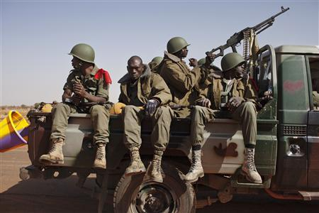 Four civilians killed as vehicle hits land mine in Mali