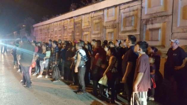 Hundreds of Central American migrants rescued from truck