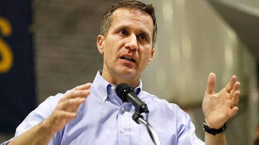 Missouri Gov. Eric Greitens indicted on felony invasion of privacy charge