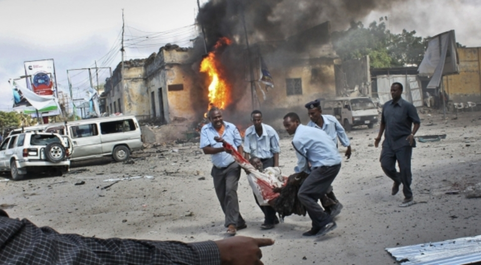 18 persons killed in car bomb explosion in Mogadishu