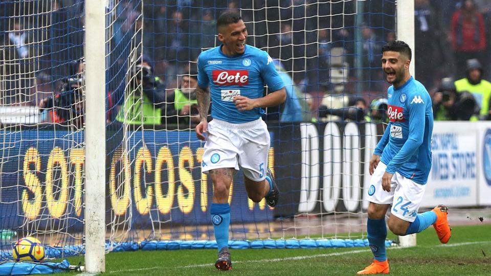 Serie A : Napoli regain top spot with club-record ninth win