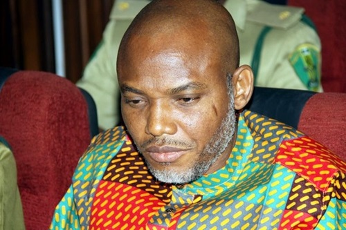 Court orders separate trials for Nnamdi Kanu, co-defendants