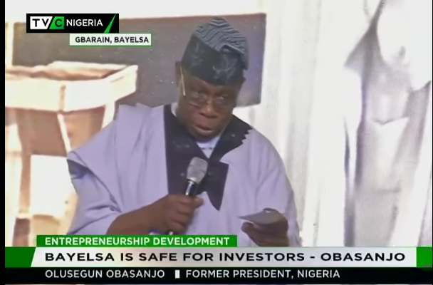 Bayelsa is safe for investors – Obasanjo