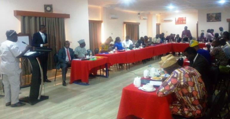Osun sensitizes journalists, Civil society on State's Health Scheme