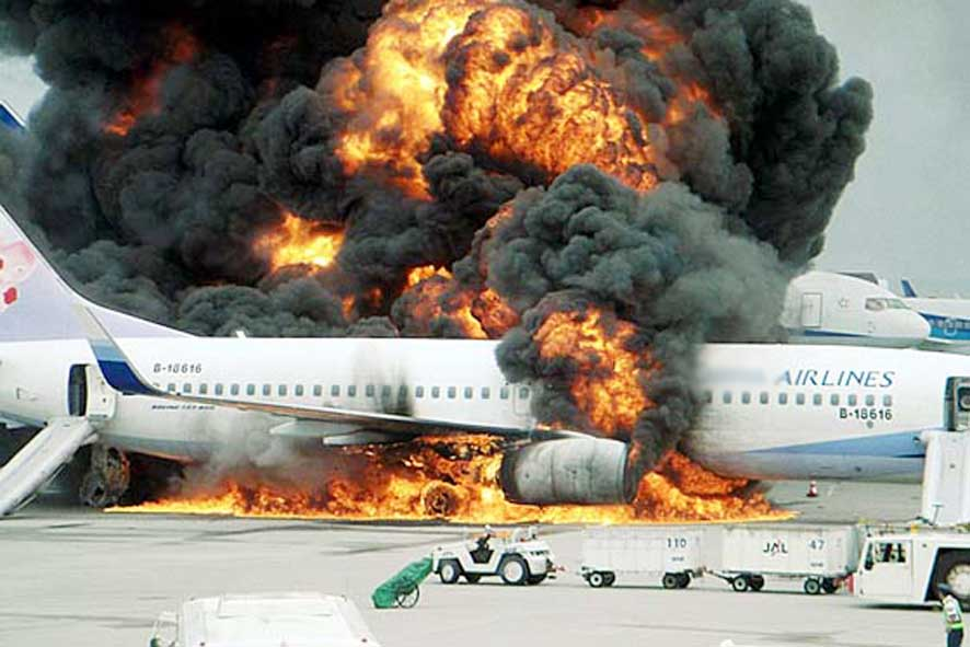 Delta airline flight from Lagos to Atlanta catches fire, 5 injured