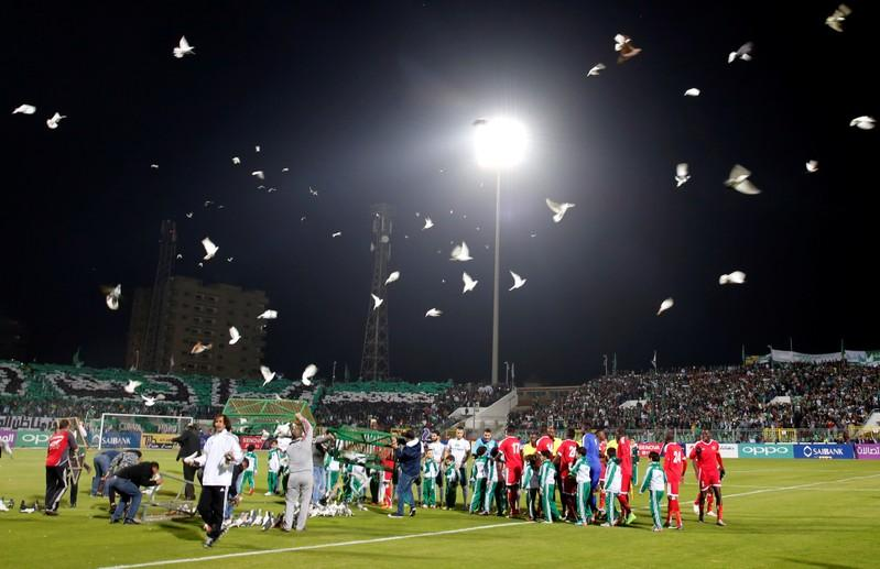 Port Said stadium reopens six years after 72 killed