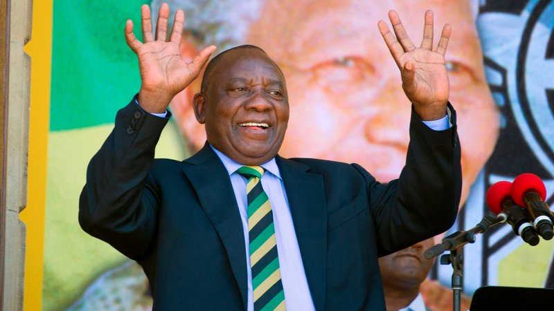Ramaphosa elected as new President of South Africa