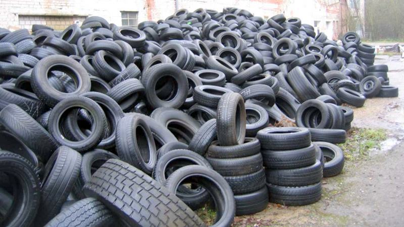 S.O.N. destroys tyres with Hi-tech machine