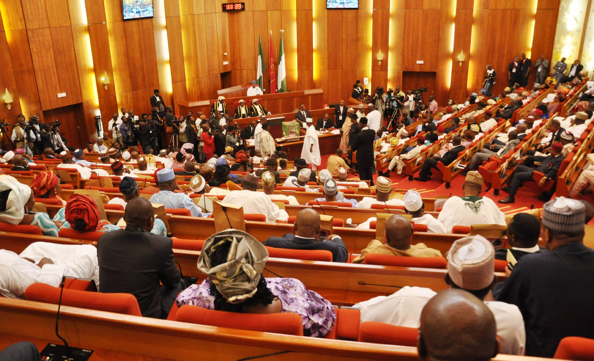 Senate confirms Buhari's nominees for INEC