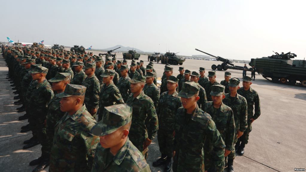 Biggest U.S. force in years joins annual Thailand drill