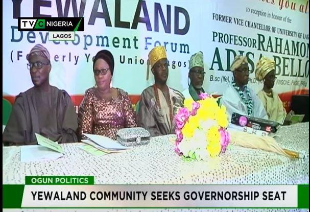 Ogun 2019: Yewaland Community seeks governorship seat