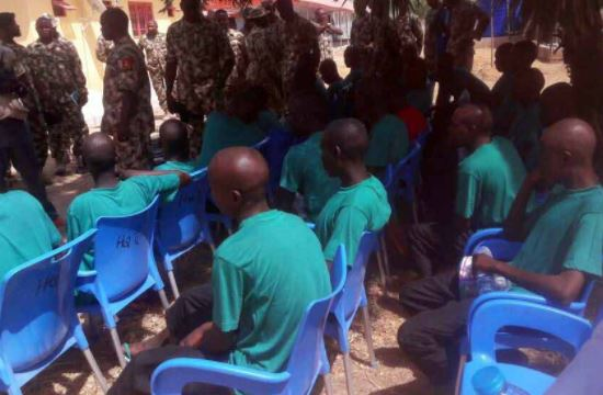 26 Boko Haram members surrender to Nigeria Army