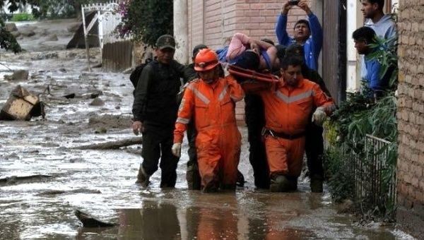 Three dead, six missing in Bolivia flooding