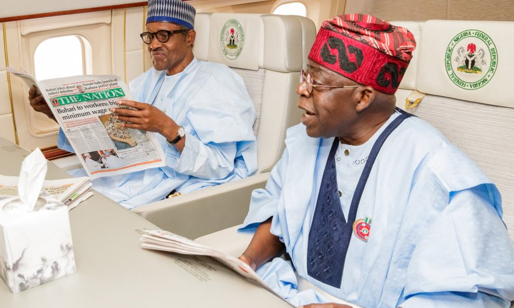 Tinubu reacts to OBJ's letter, says ex-president playing politics