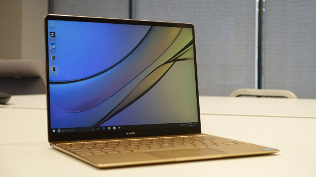Huawei launches world's first edge-to-edge touch-screen laptop