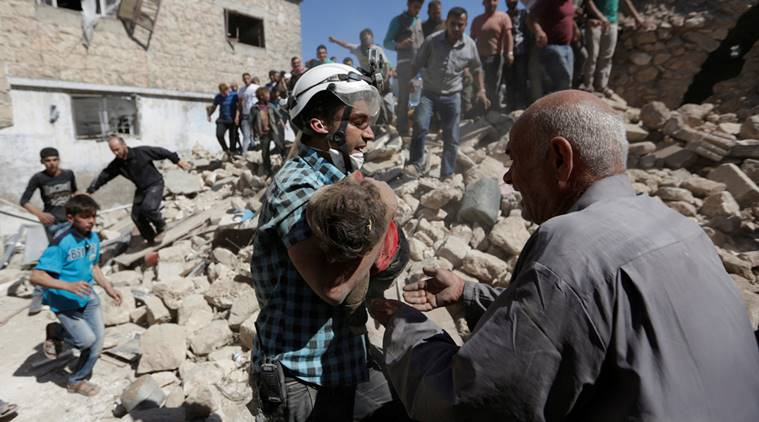 Two children dead in air strikes in northern Idlib province – monitor