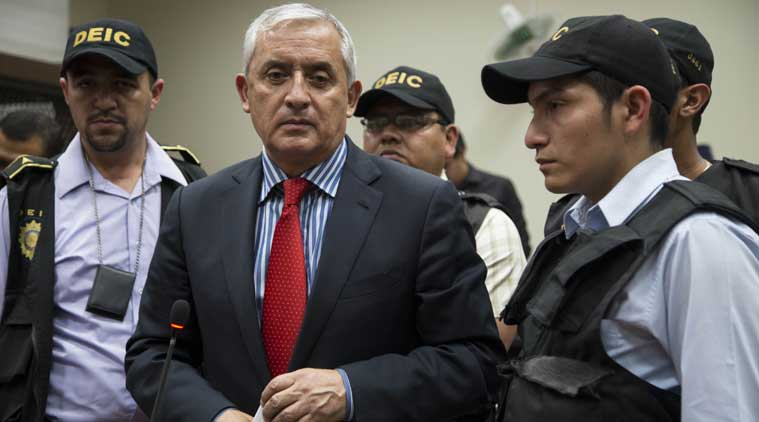 Ex-Guatemalan president fronts Court in graft probe