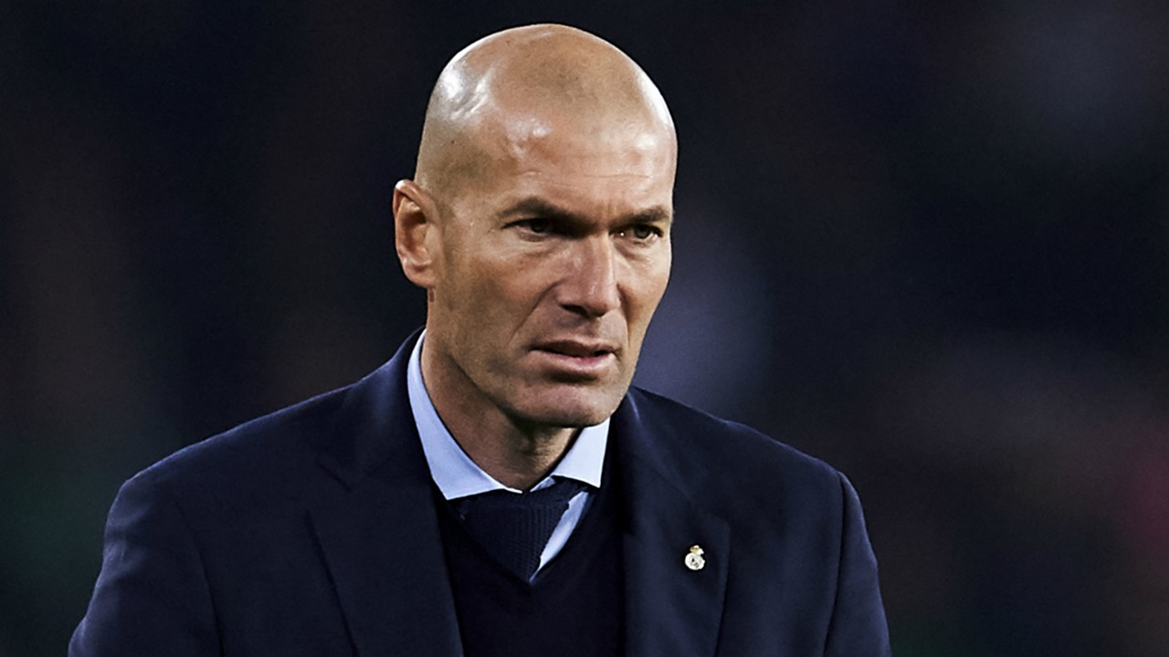 Real Madrid Vs PSG: I am not thinking about my future but thinking about the match – Zidane
