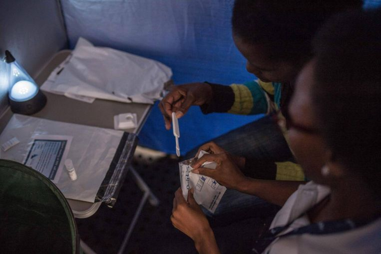 South Africa pushes to combat HIV among girls