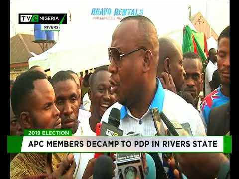 More APC members decamp to PDP in Rivers state
