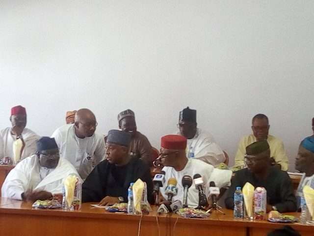 Reconciliation : APC leaders meet with party's Senate caucus