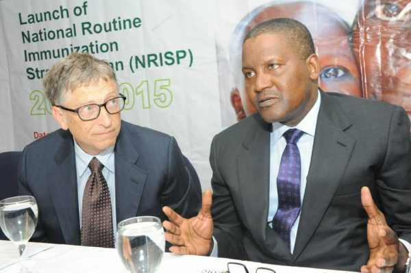 Bill Gates, Dangote, six northern governors sign MoU to improve healthcare