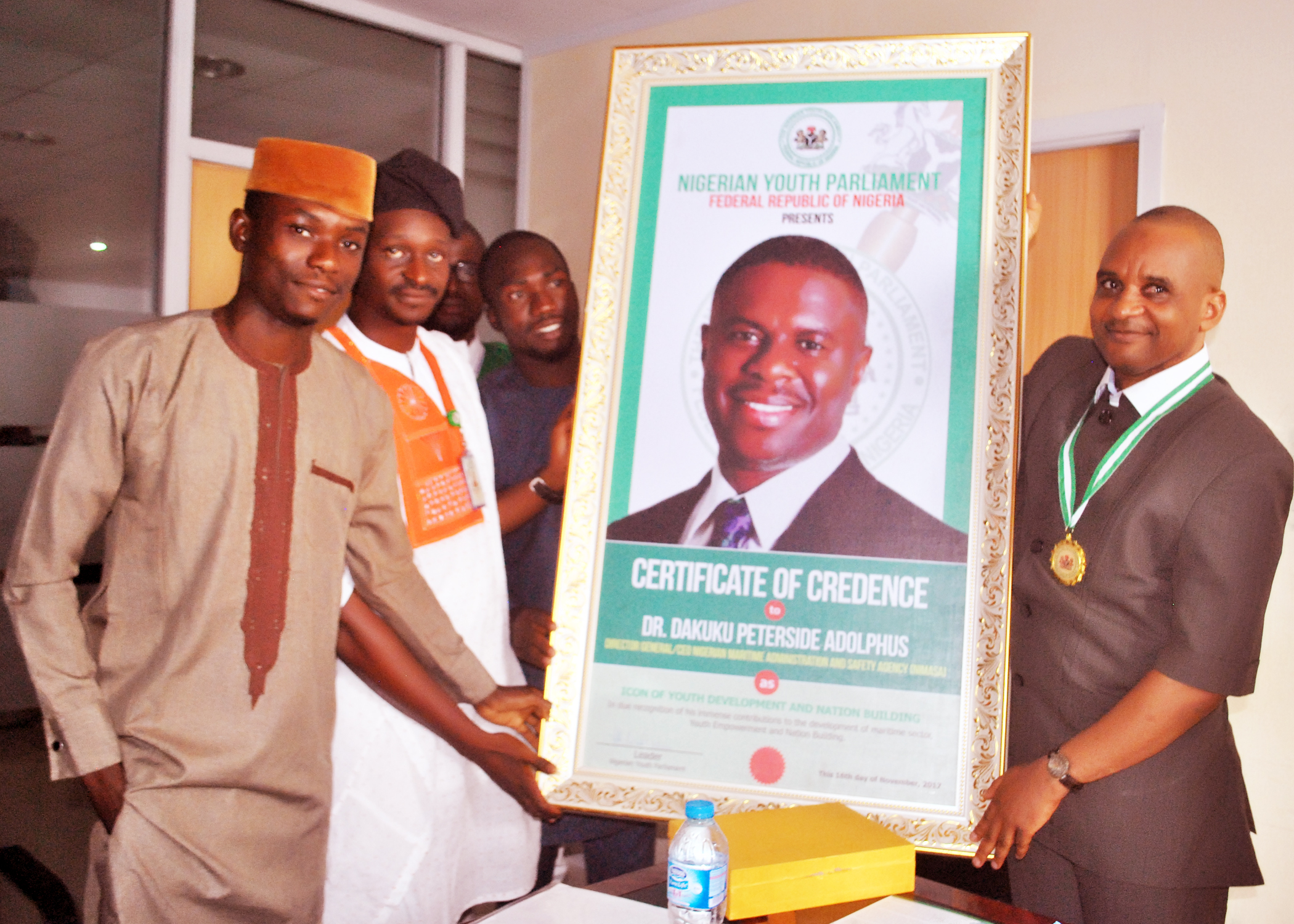 NIMSA DG, Dakuku Peterside gets leadership award