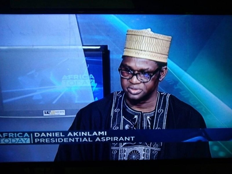 Daniel Akinlami declares intention to run for presidency