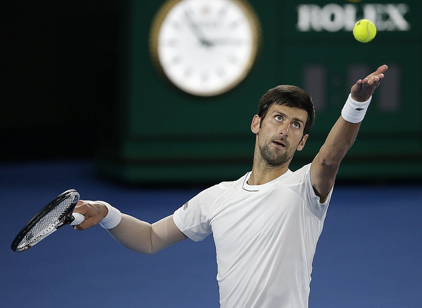 Indian Wells : Djokovic looking forward to playing pain-free