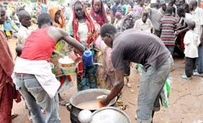 Hungry IDPs protest food shortage in Adamawa camps