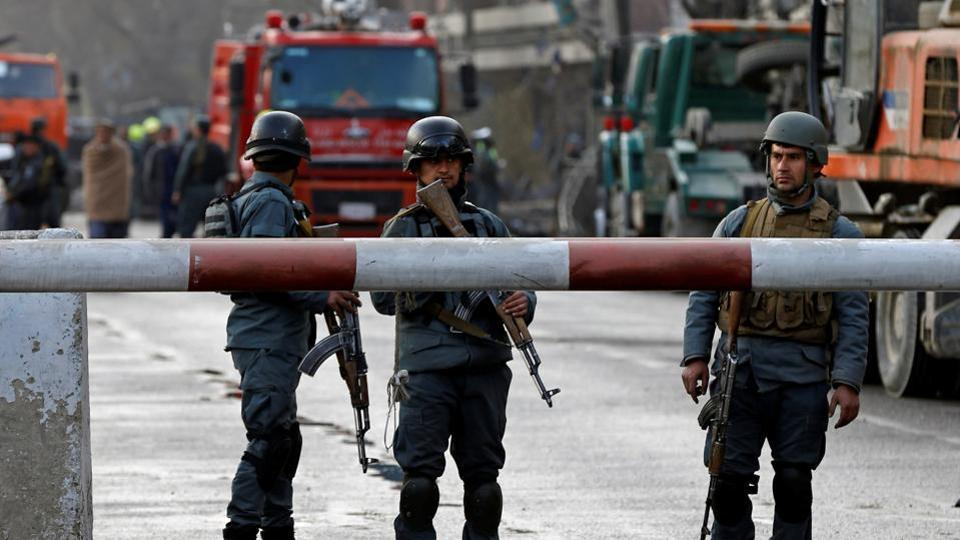 At least three killed by blast in Afghan capital Kabul