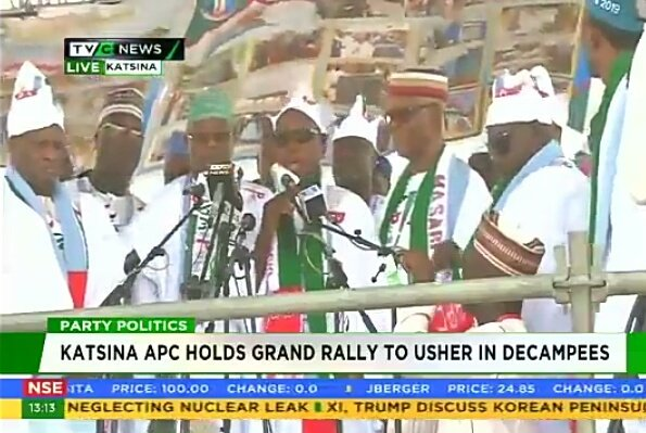 Katsina APC holds grand rally to usher in decampees