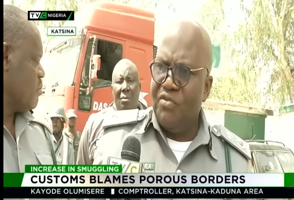 Customs blames porous borders for increasing smuggling