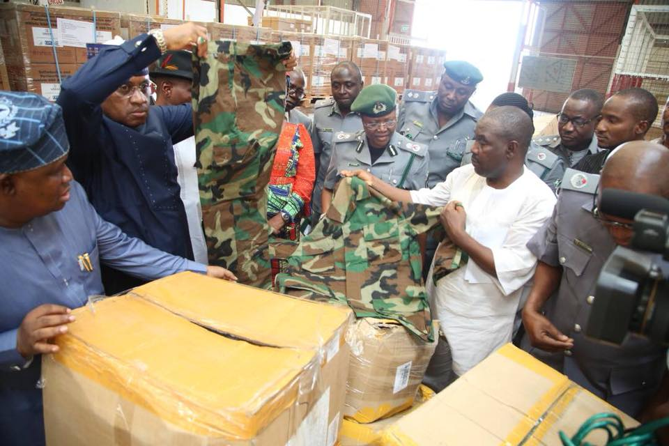 Senate to probe Kogi state over illegal importation of military gear