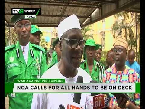 War against Indiscipline: NOA calls for all hands on deck