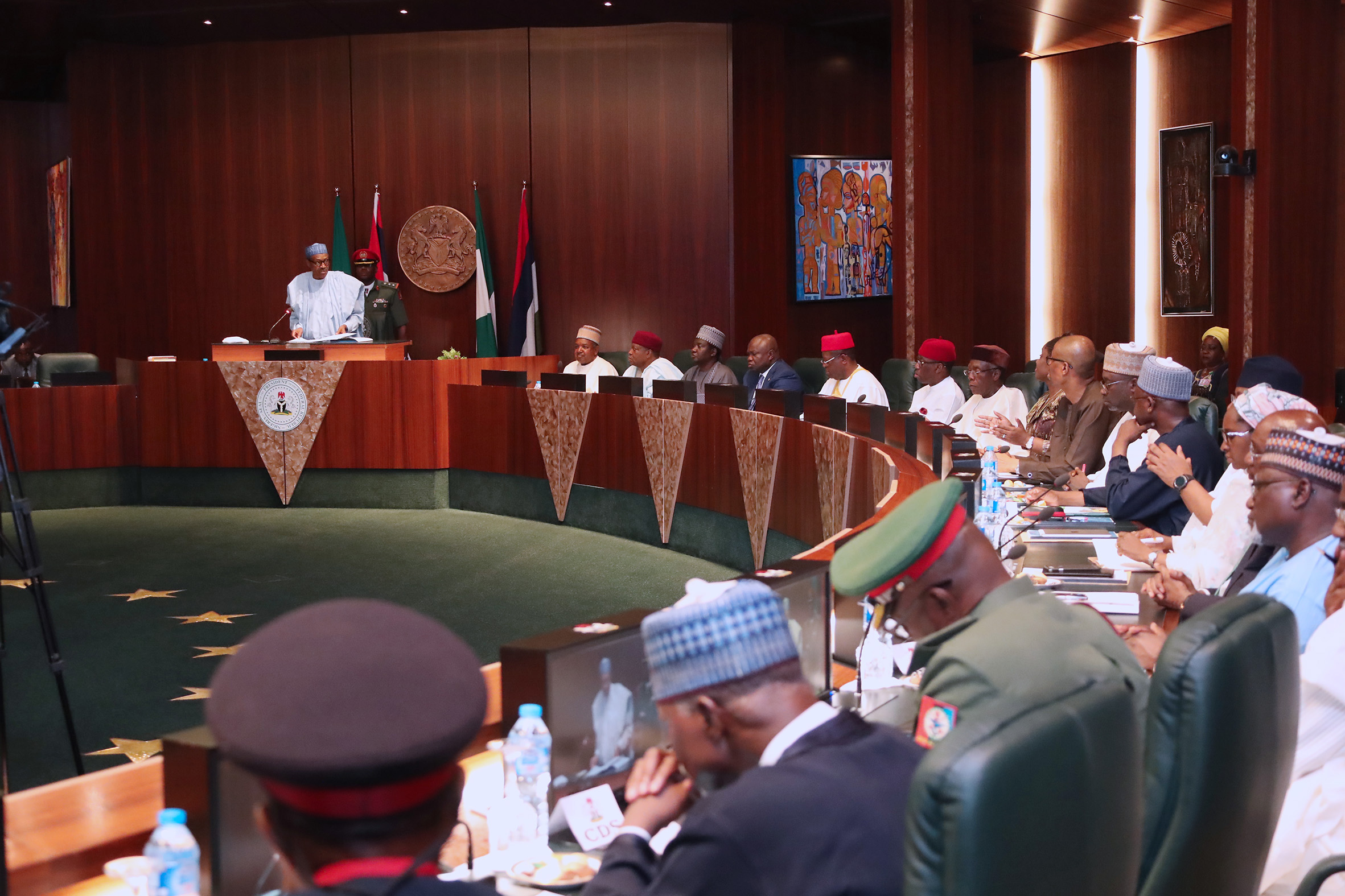 Buhari inaugurates national food security council