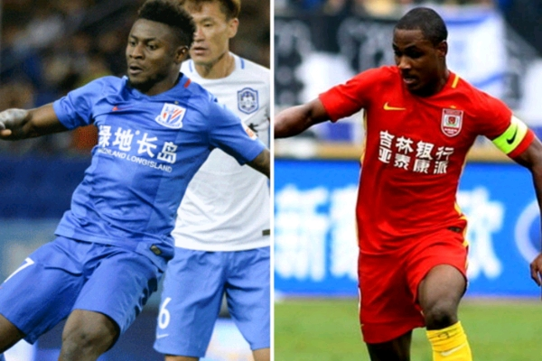 Chinese league : Martins faces Ighalo in Shenhua vs Yatai opening clash