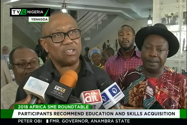 Ex-Anambra governor, Obi advocates SMEs devt in Africa