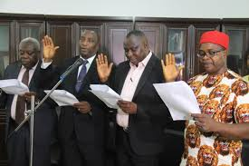 Obiano swears in four principal officers