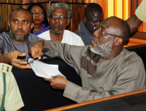 Corruption trial : Metuh returns to court in wheelchair