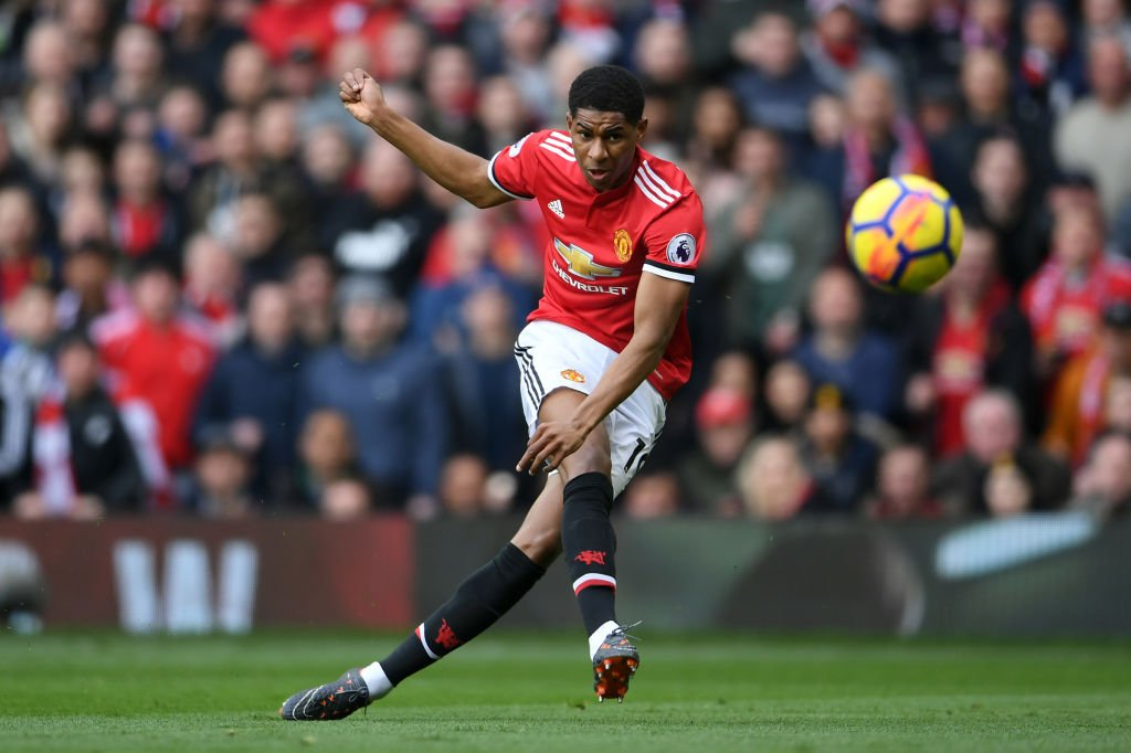EPL : Rashford double gives Man. U victory over Liverpool