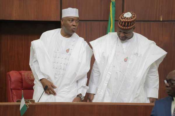 Election sequence : Saraki, Dogara in agreement on reply to PMB's rejection