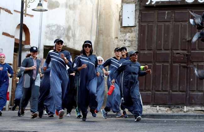 Saudi women celebrate Women's Day with a jog in Jeddah