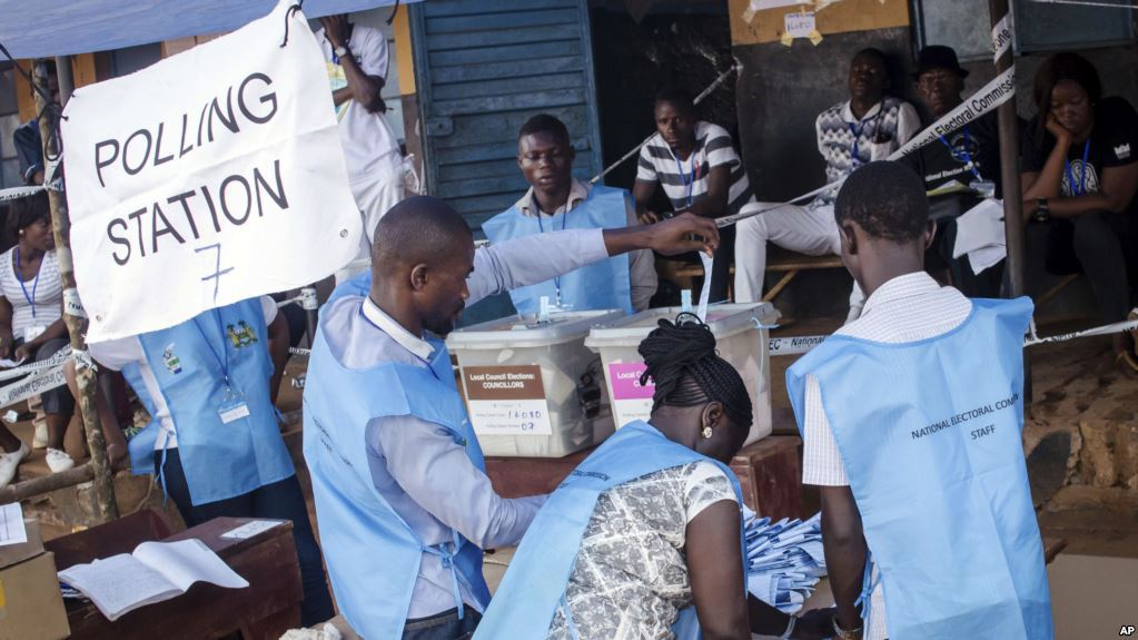 Poll opens in Sierra Leone's delayed election