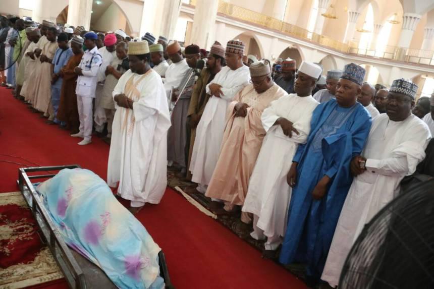 Late Senator Ali Wakili buried in Abuja