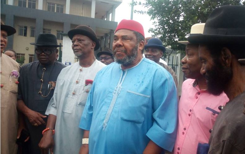 Pete Edochie leads protest in Port Harcourt