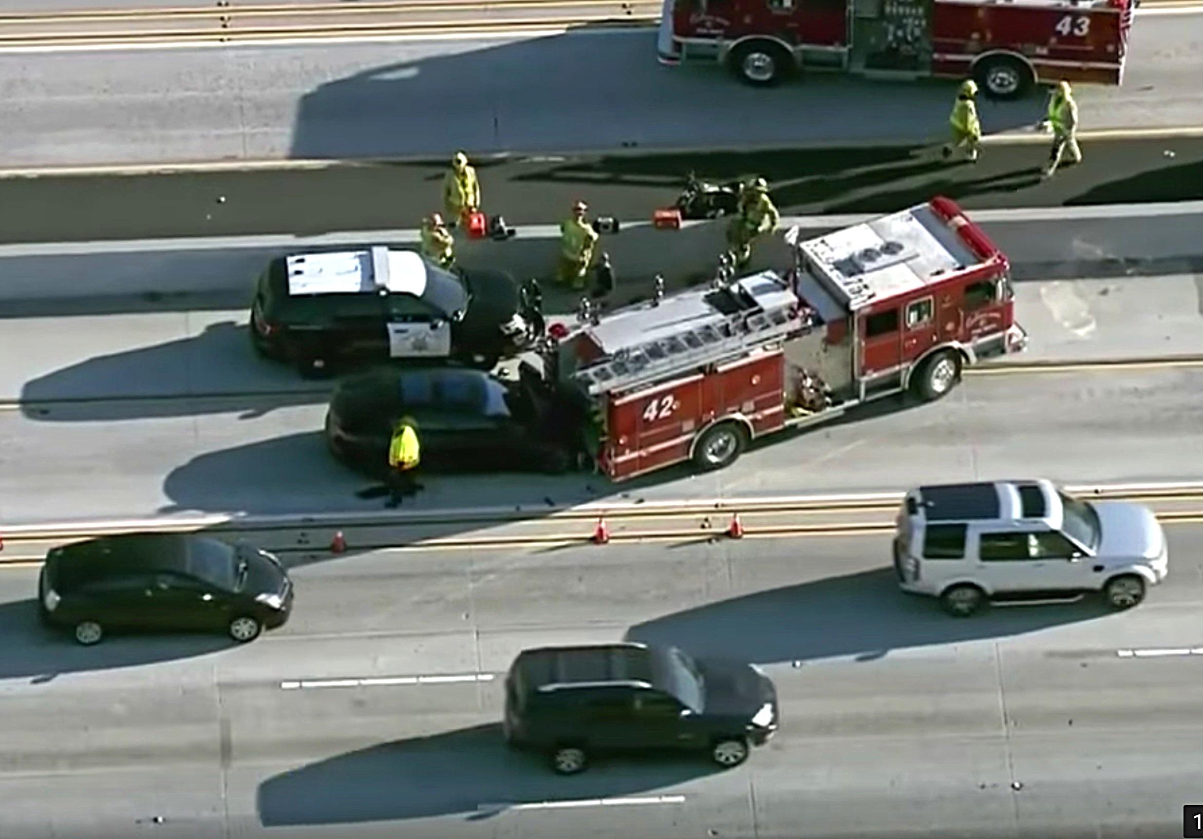 U.S. opens probe into fatal Tesla crash, fire in California