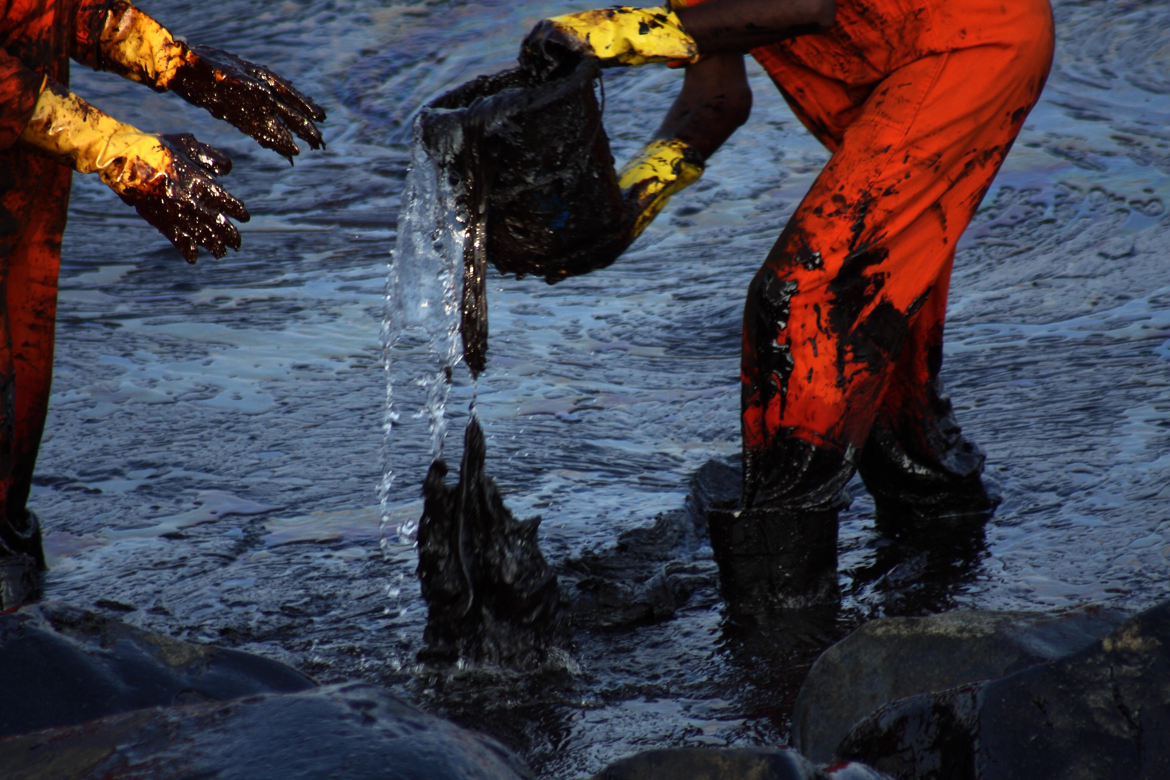 Group against transfer of power to supervise oil spills
