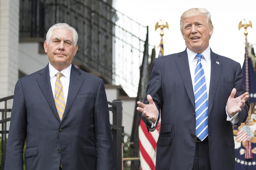 Trump fires Tillerson, appoints Pompeo as U.S. Secretary of State