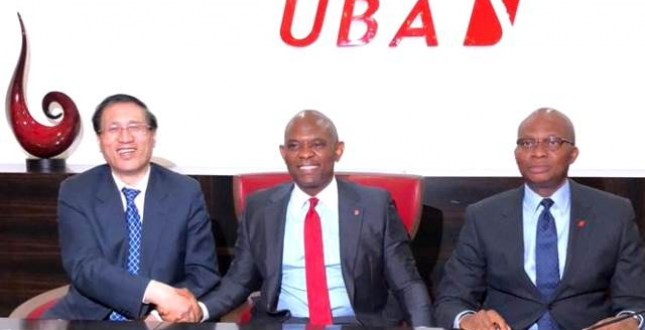 Chinese bank, UBA seal $100m deal to assist African SMEs